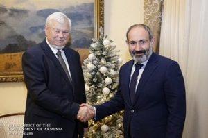 Каспршик и Пашинян