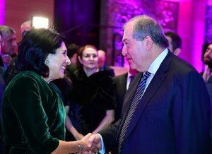 Зурабишвили и Саркисян