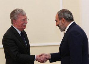 Болтон и Пашинян