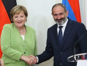Меркель и Пашинян