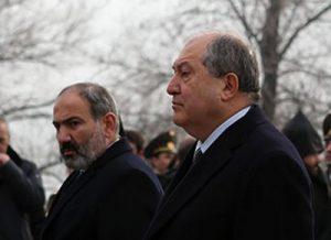 Пашинян и Саркисян