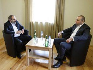 Премьер-министры Армении и Грузии
