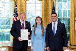 Трамп и Нерсесян