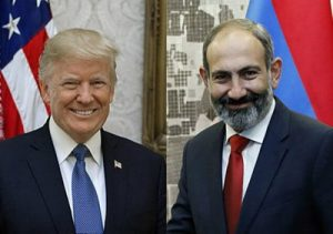 tramp pashinyan