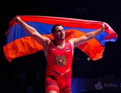 Борцы вольного стиля Армении завоевали в Тегеране 2 медали