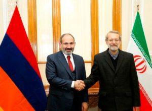 Пашинян и Лариджани