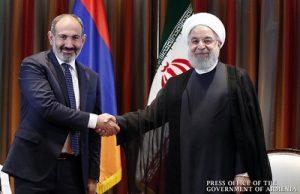 Пашинян и Роухани