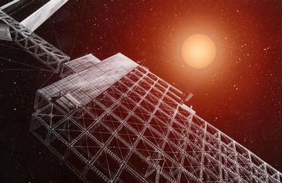 солнечная электростанция в космосе