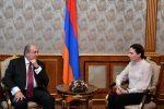Армен Саркисян и Юлия Левочкина