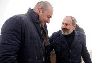 Бахтадзе и Пашинян