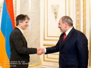 Туфенкян и Пашинян