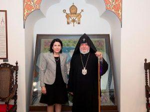 Зурабишвили и Гарегин II