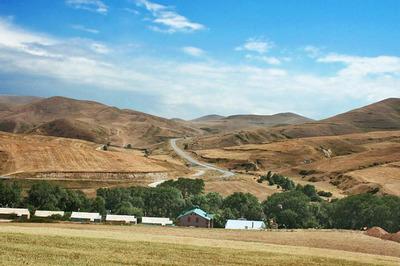 село в горах