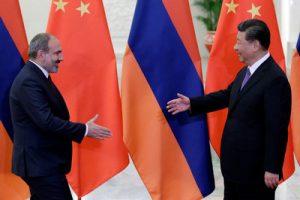 Пашинян и Си Цзиньпин