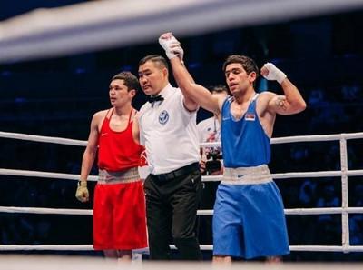 Боксер Артур Ованнисян стал чемпионом  II  Европейских игр