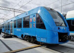 В Польше представили водородный поезд Alstom